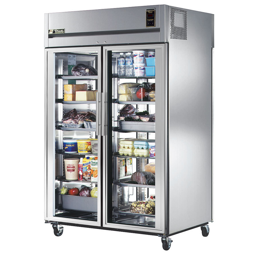 Restaurant and bar supply products helblings restaurant - Glass door fridge for home ...